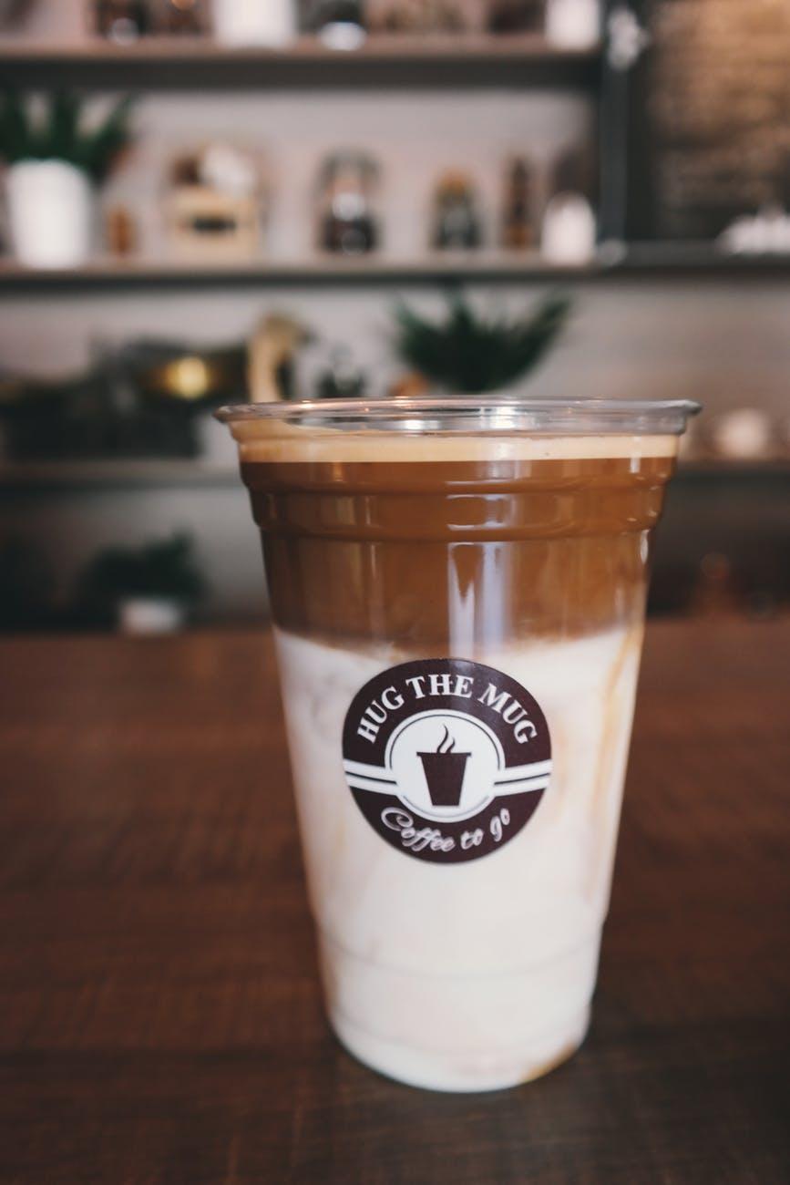 blur breakfast brown cafe